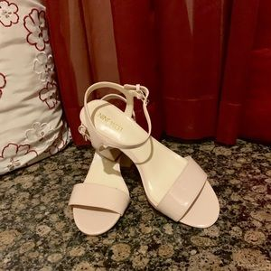 Light Pink Nine  West Sandals